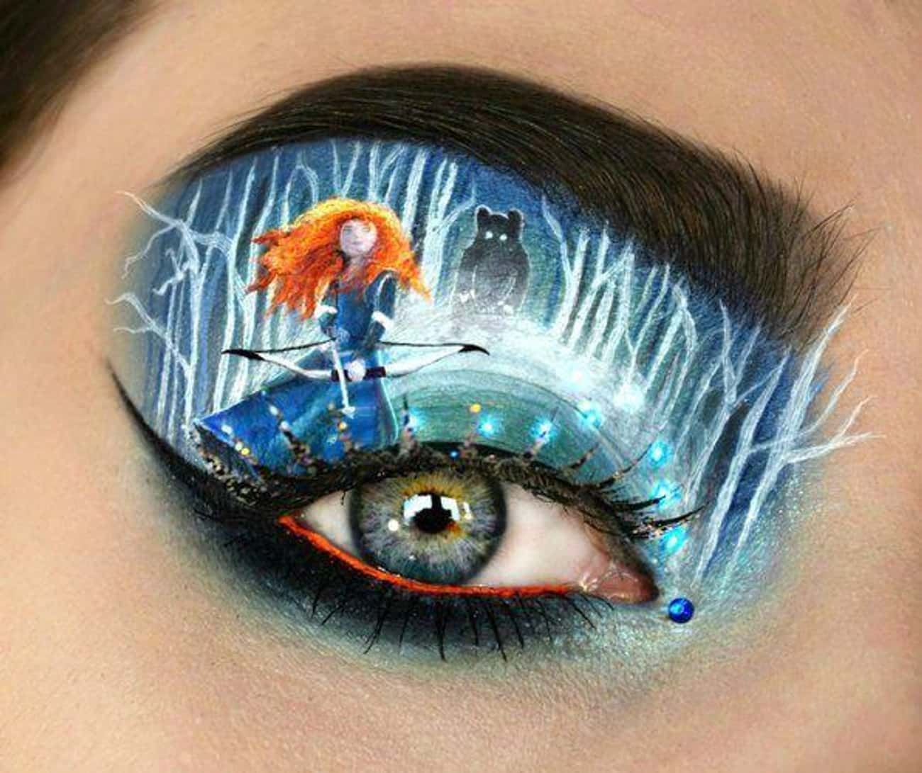 Brave is listed (or ranked) 4 on the list Disney Makeup That's Beyond Magical