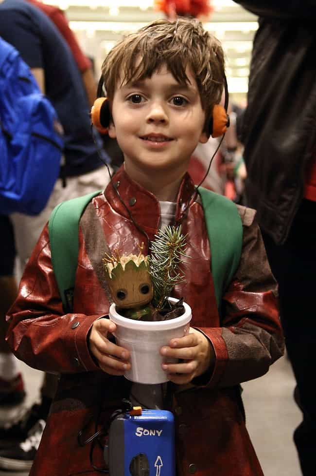 Star Lord is listed (or ranked) 1 on the list 23 Adorable Little Kid Cosplayers Who Will Make You Believe In The Future