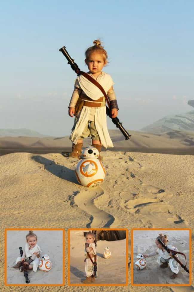 Star Wars is listed (or ranked) 2 on the list 23 Adorable Little Kid Cosplayers Who Will Make You Believe In The Future