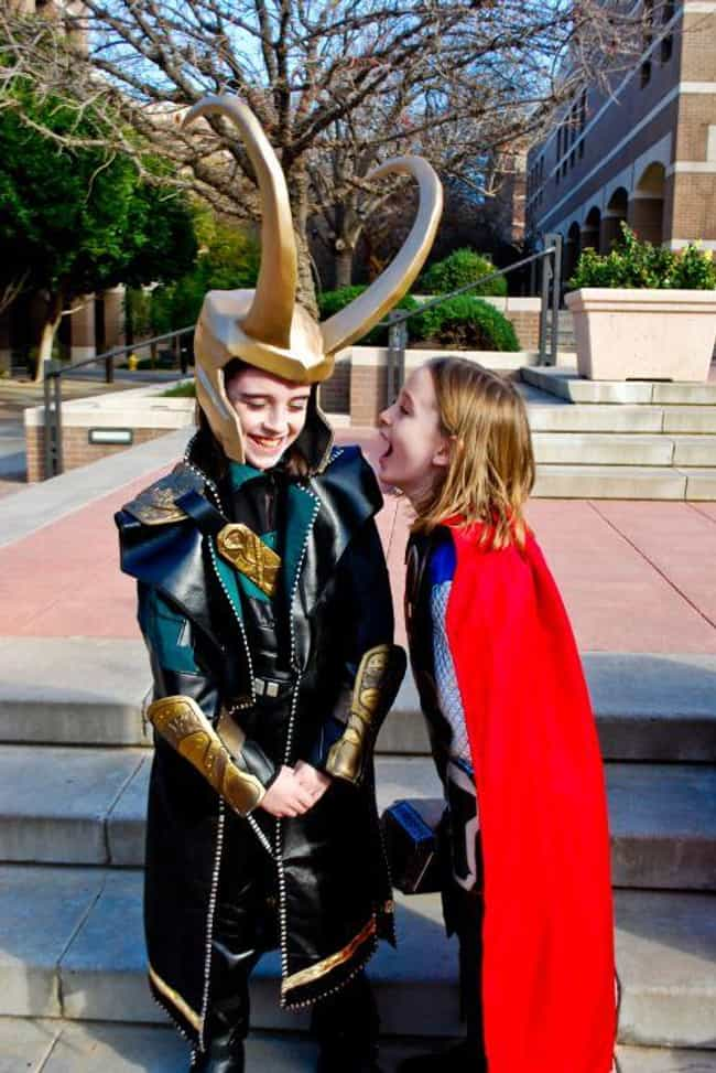 Thor And Loki is listed (or ranked) 3 on the list 23 Adorable Little Kid Cosplayers Who Will Make You Believe In The Future