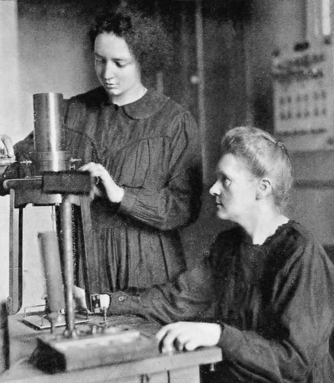 She Died Of Radiation Sickness is listed (or ranked) 3 on the list 12 Things About Marie Curie That Prove She's One of the Most Influential Women Ever