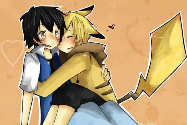 Ash And Pikachu is listed (or ranked) 3 on the list Yaoi Pokemon Fan Art That Will Confuse You On The Most Basic Level