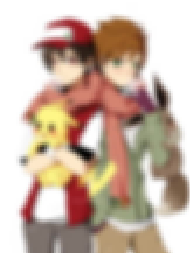 Green And Red is listed (or ranked) 2 on the list Yaoi Pokemon Fan Art That Will Confuse You On The Most Basic Level