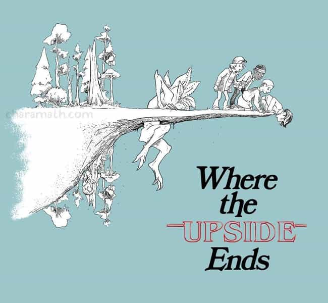 Where The Upside Ends is listed (or ranked) 1 on the list 28 Brilliant Stranger Things Mashup Art Masterpieces