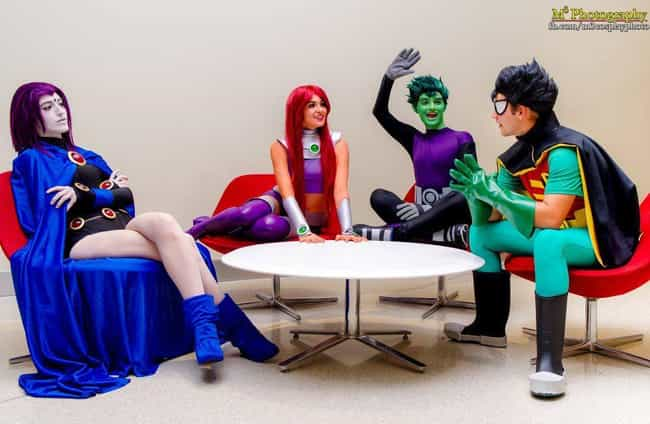 Team Meeting is listed (or ranked) 4 on the list 26 Teen Titans Cosplays That Will Give You All The Nostalgia Feels