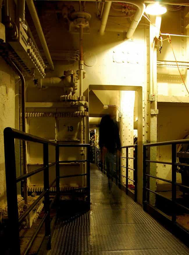 A Crewmember Who Was Cru... is listed (or ranked) 2 on the list The Terrifying Haunted History Of The Queen Mary