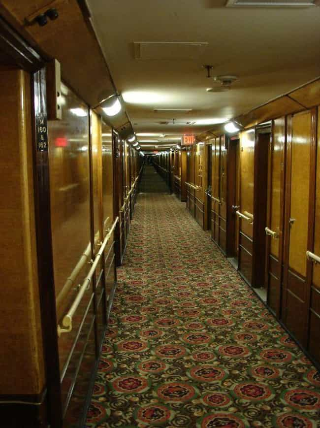 A Murdered Girl Still Cr... is listed (or ranked) 1 on the list The Terrifying Haunted History Of The Queen Mary