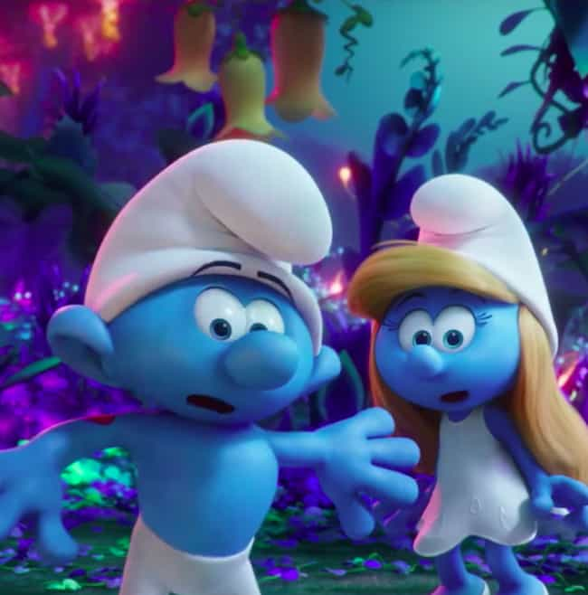 Not in Smurf Village Any... is listed (or ranked) 1 on the list Smurfs: The Lost Village Movie Quotes