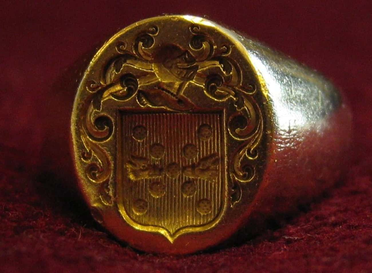 A Signet Ring With A Shakespea is listed (or ranked) 3 on the list 10 Mysterious And Creepy Items Discovered At Jamestown, Virginia