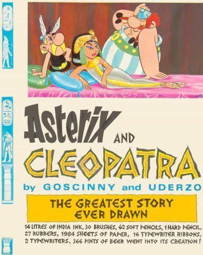 Asterix and Cleopatra is listed (or ranked) 2 on the list The Best Asterix Volumes