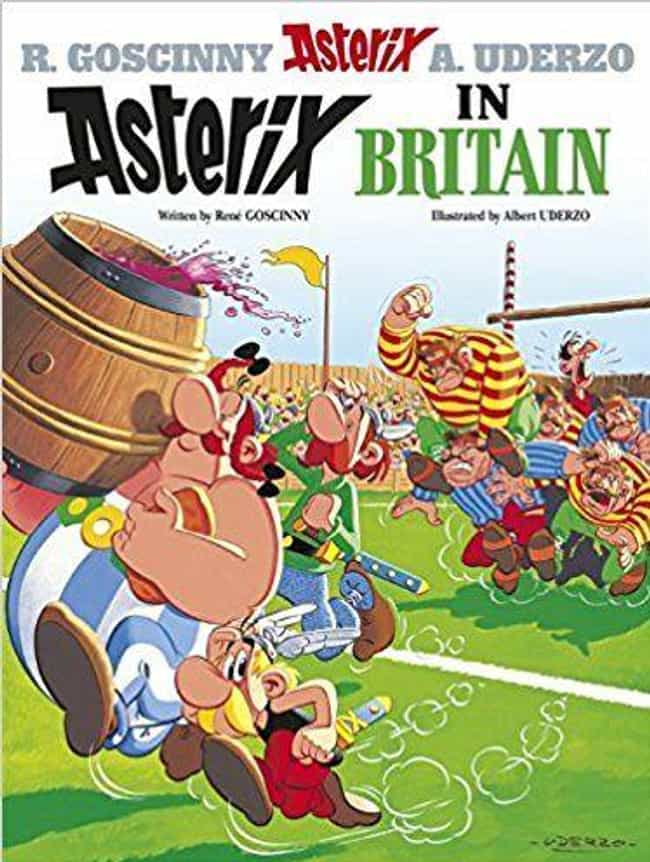 Asterix in Britain is listed (or ranked) 4 on the list The Best Asterix Volumes