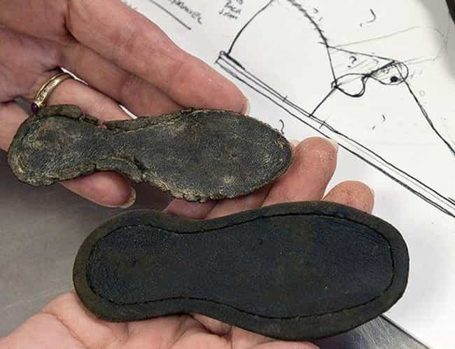A Child's Shoes is listed (or ranked) 2 on the list 10 Mysterious And Creepy Items Discovered At Jamestown, Virginia