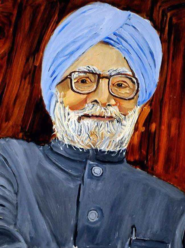 Indian Prime Minister Ma... is listed (or ranked) 7 on the list All 33 George W. Bush Original Paintings That Were Made Public