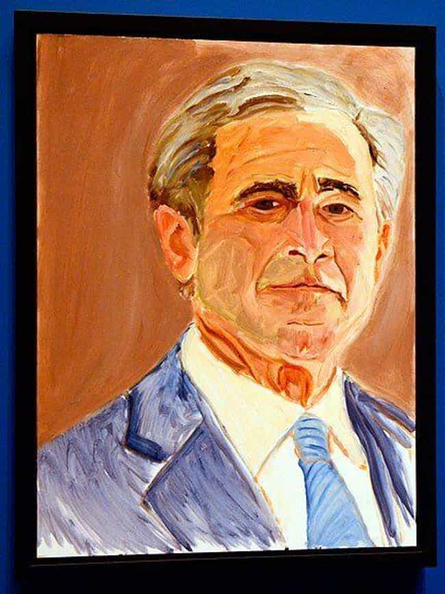 Self Portrait is listed (or ranked) 4 on the list All 33 George W. Bush Original Paintings That Were Made Public