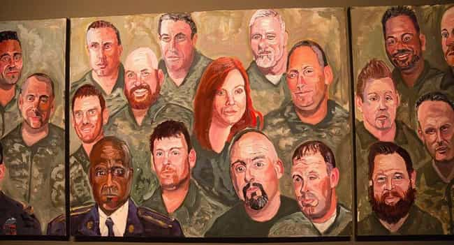 Wounded U.S. Military Ve... is listed (or ranked) 3 on the list All 33 George W. Bush Original Paintings That Were Made Public