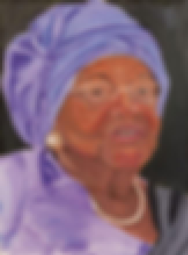 Liberia's Ellen Johnson Si... is listed (or ranked) 4 on the list All 33 George W. Bush Original Paintings That Were Made Public