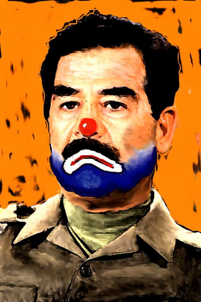 Saddam Hussein is listed (or ranked) 1 on the list All 33 George W. Bush Original Paintings That Were Made Public