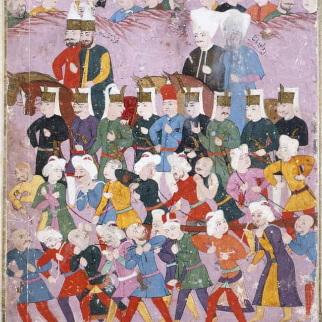 They Swelled To Over 100,000 M... is listed (or ranked) 6 on the list 14 Facts About The Janissaries, The Ruthless Army That Inspired The Unsullied