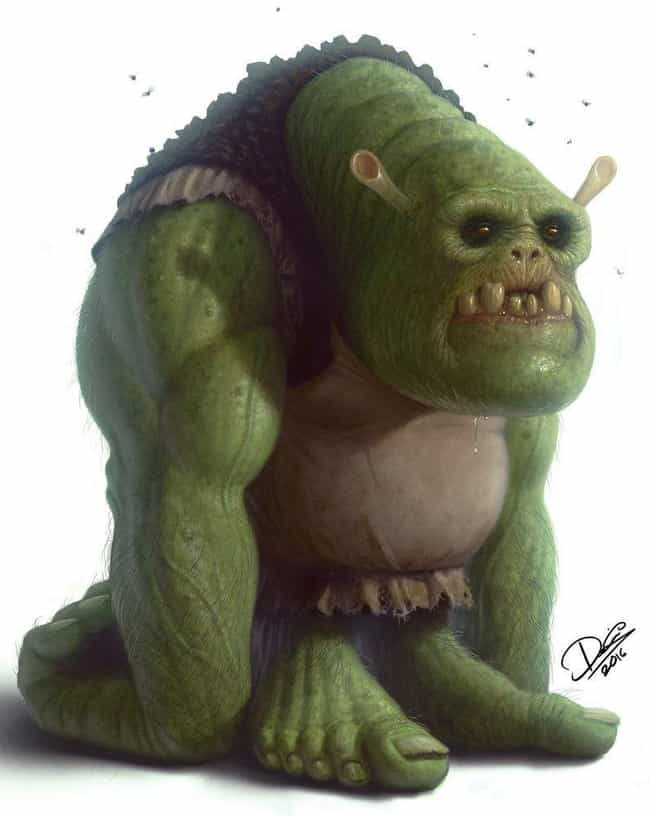 Shrek In Reality is listed (or ranked) 4 on the list Realistic Fan Art Of Pop Culture Favorites
