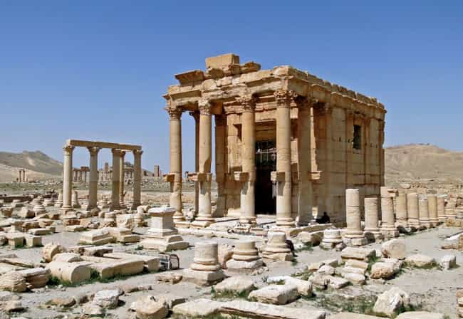 Temple Of Baalshamin - Palmyra... is listed (or ranked) 1 on the list The Most Beautiful Historical Artifacts Destroyed By Terrorists Around The World