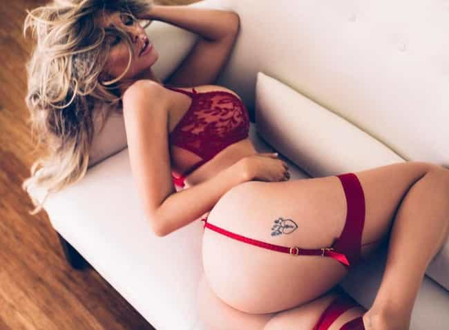 Garters Make a Girl Hotter is listed (or ranked) 3 on the list The Hottest Emily Sears Pictures
