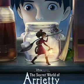 The Secret World Of Arrietty is listed (or ranked) 10 on the list Great Movies About Very Smart Young Girls