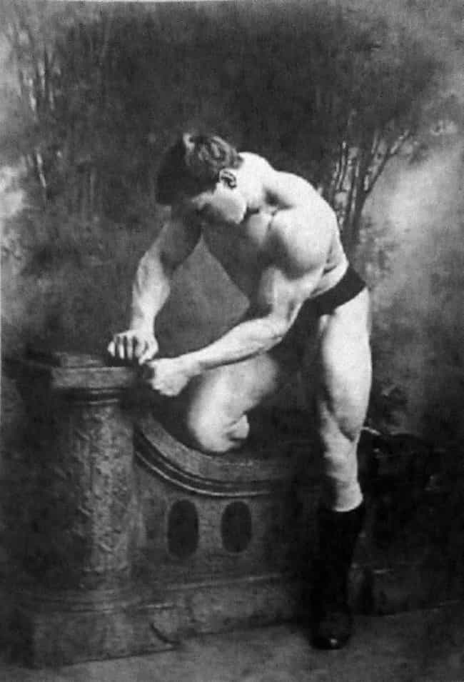 George Hackenschmidt, Ci... is listed (or ranked) 1 on the list 30 Hilarious Photographs of Old Timey Strongmen