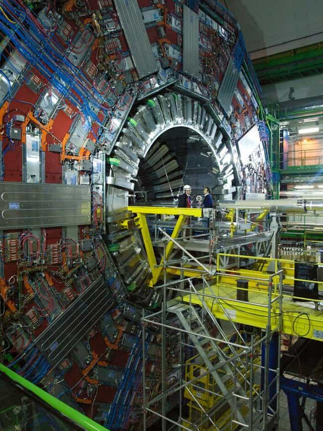 The Discovery Of The Higgs-Bos... is listed (or ranked) 1 on the list 8 Ridiculous Conspiracy Theories That Blame Satanists For Almost Everything
