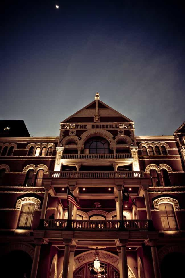 The Driskill Hotel Has Two Gho... is listed (or ranked) 1 on the list 12 Super Terrifying Ghost Tales From Austin, Texas