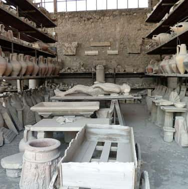 The Plaster Bodies Are Full Of is listed (or ranked) 1 on the list 14 Bizarre Things Most People Don't Know About The Bodies Preserved At Pompeii