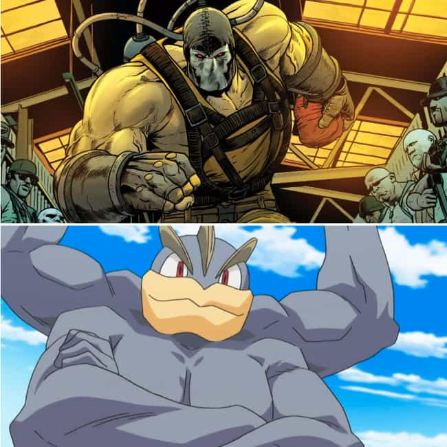 Bane Chooses Machamp is listed (or ranked) 2 on the list 15 Batman Villains And The Starting Pokémon They Would Choose