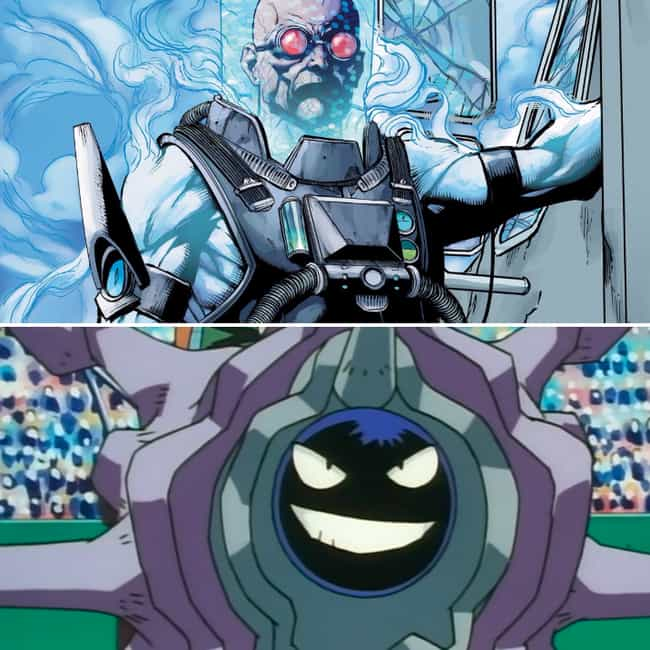 Mr. Freeze Chooses Cloys... is listed (or ranked) 1 on the list 15 Batman Villains And The Starting Pokémon They Would Choose