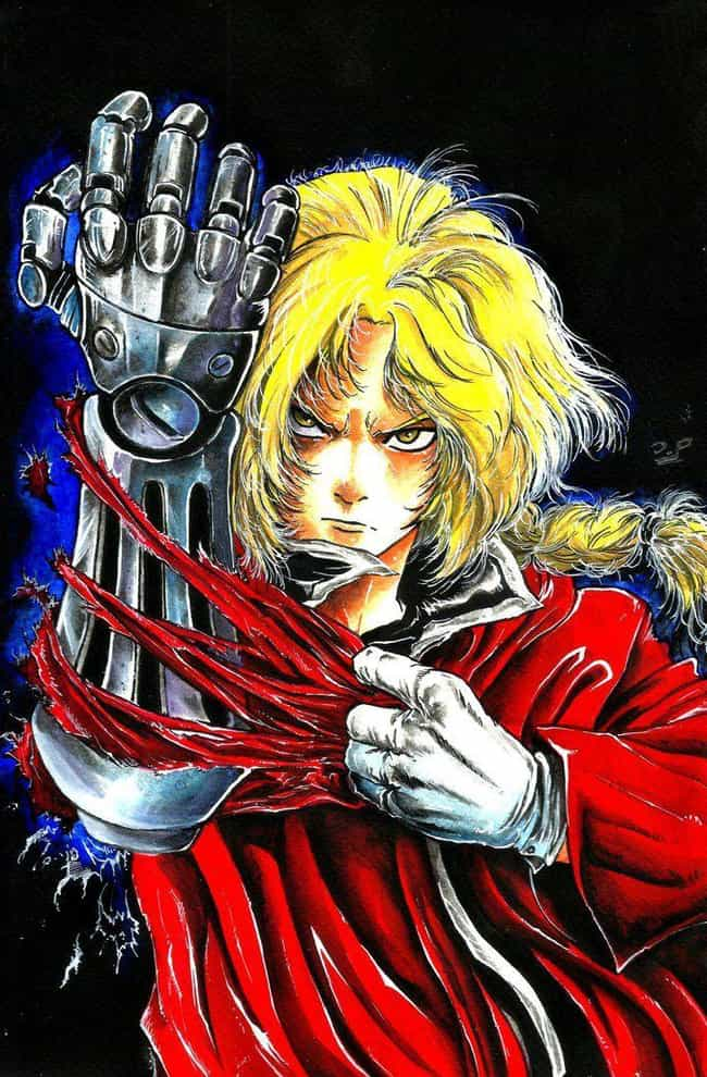 Edward Elric From 'Fullmetal A... is listed (or ranked) 3 on the list 20 Anime Characters Drawn In Different Non-Anime Styles