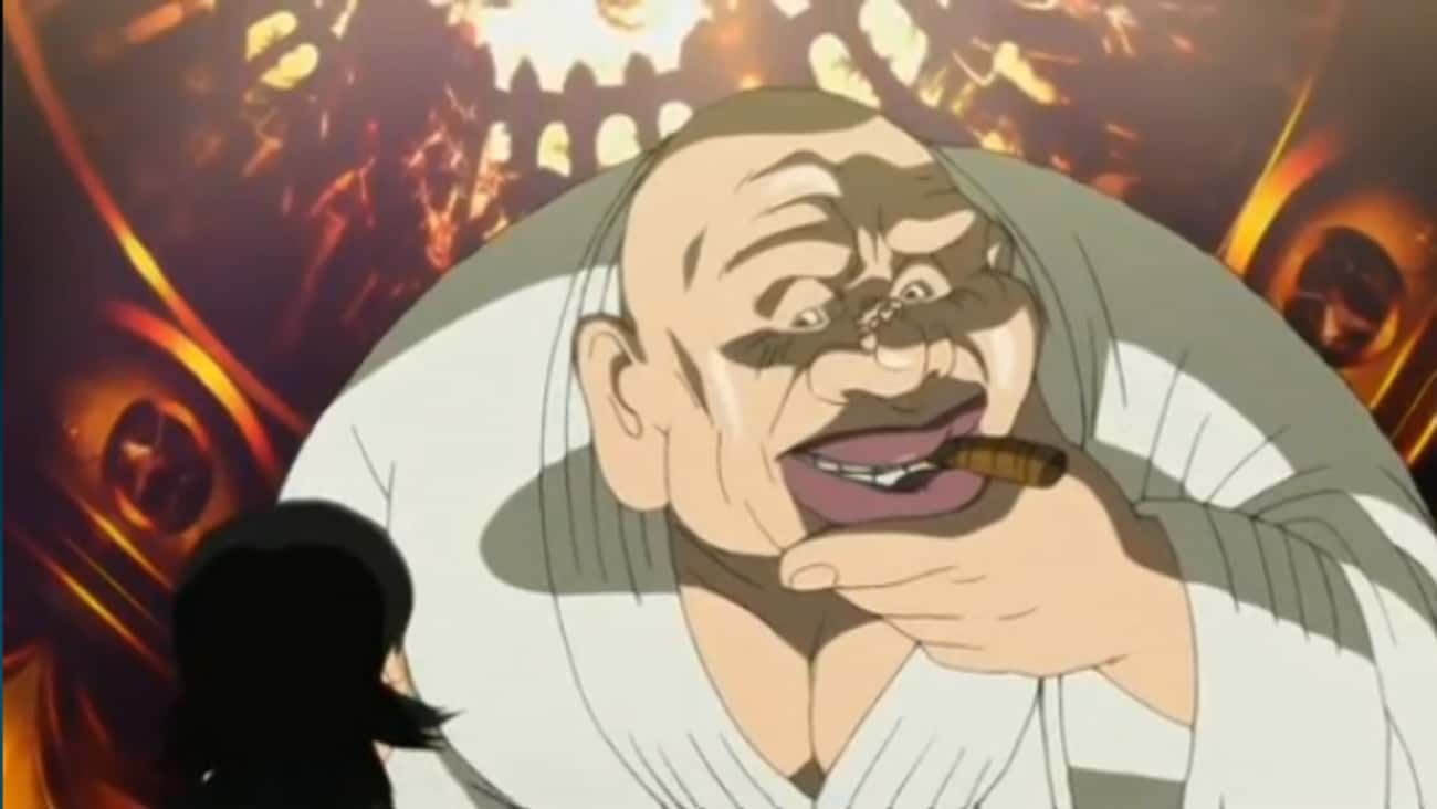 When Big Daddy Brutally Throws is listed (or ranked) 3 on the list 17 Horrifically Violent Anime Scenes That Came Out Of Nowhere