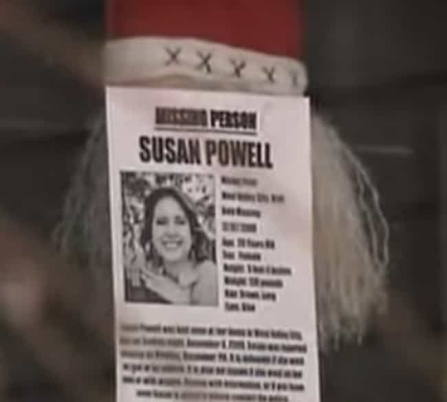 Her Husband Cancelled Her Appo... is listed (or ranked) 4 on the list 15 Disturbing Revelations Surrounding The Disappearance Of Susan Powell