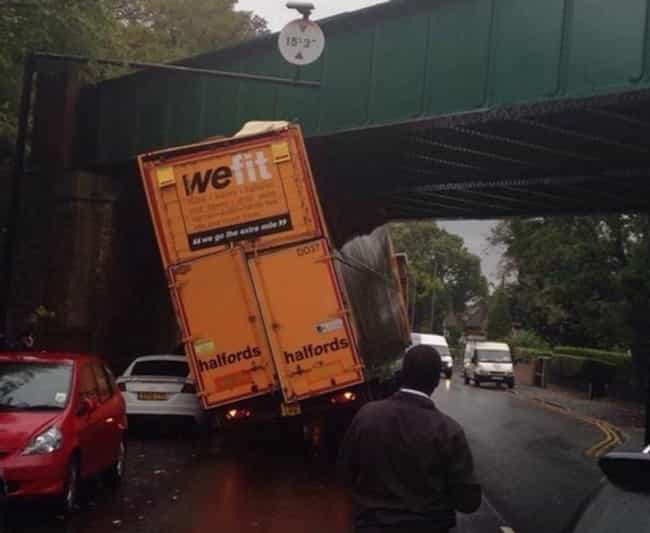 One Truck's Overly Ambit... is listed (or ranked) 3 on the list The Most Hilarious Examples Of Irony Ever Caught On Film