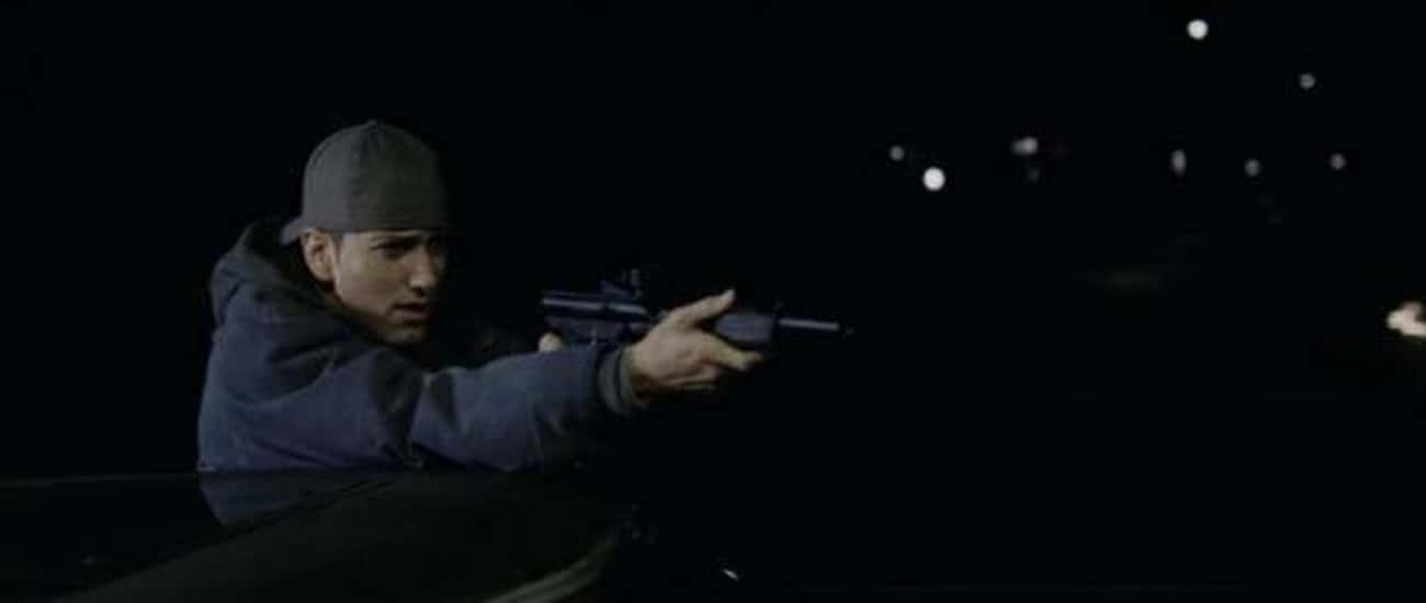 Eminem Actually Got Caught For Shooting A Cop Car With A Paintball Gun