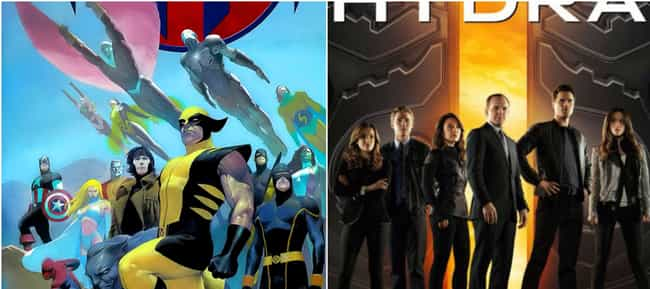 House Of M Inspired Agen... is listed (or ranked) 3 on the list Comic Books That Inspired Marvel's Phase Three