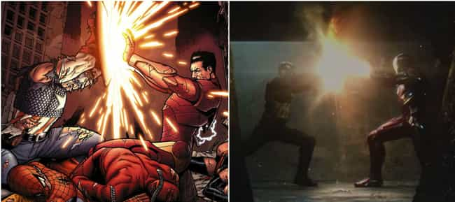 Civil War Obviously Adap... is listed (or ranked) 1 on the list Comic Books That Inspired Marvel's Phase Three
