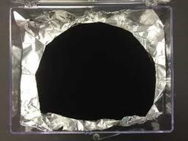 Vantablack Is The Darkest Manu... is listed (or ranked) 1 on the list Things You Didn't Know About Vantablack: The Darkest Color In The Galaxy