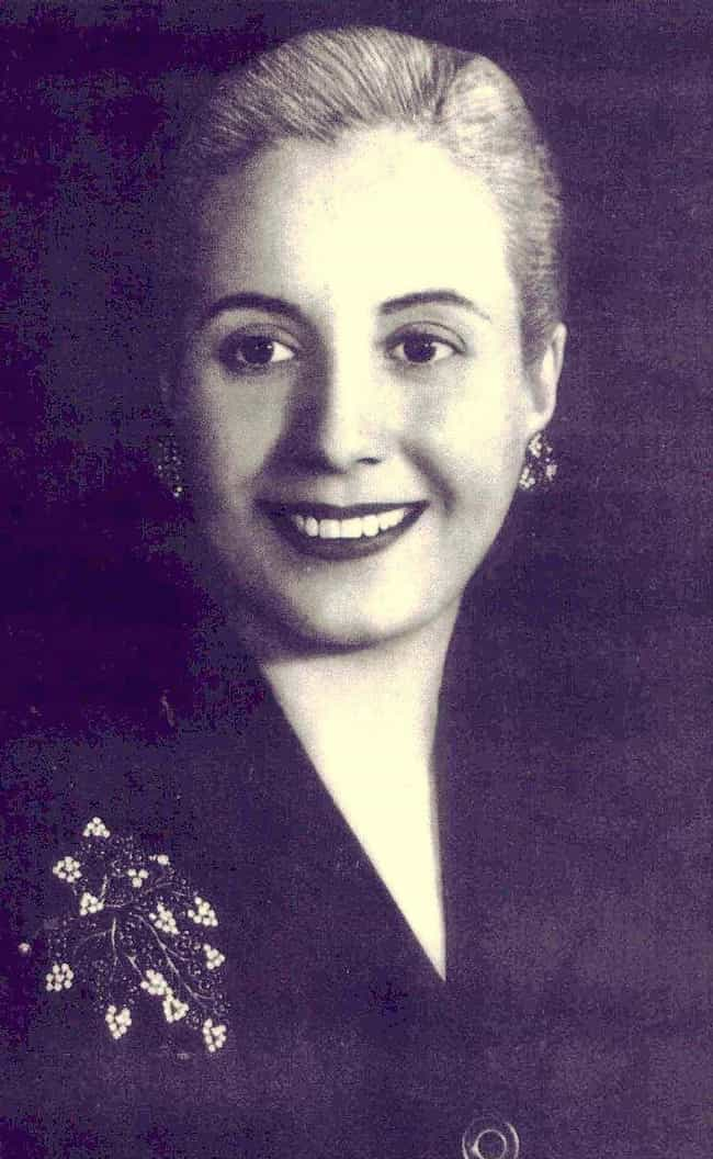 Eva Peron Went From An Actress... is listed (or ranked) 3 on the list The Most Influential Illegitimate Children Throughout History