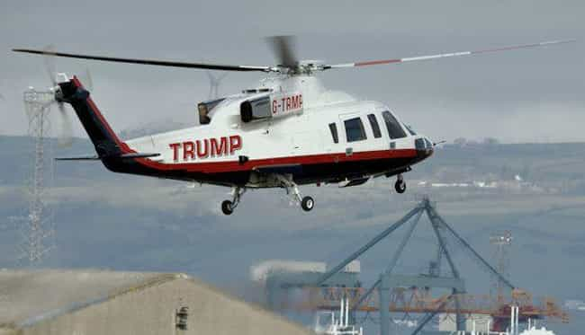 Private Golden Helicopte... is listed (or ranked) 4 on the list The Most Garish Possessions Donald Trump Owns, Ranked By Ridiculousness