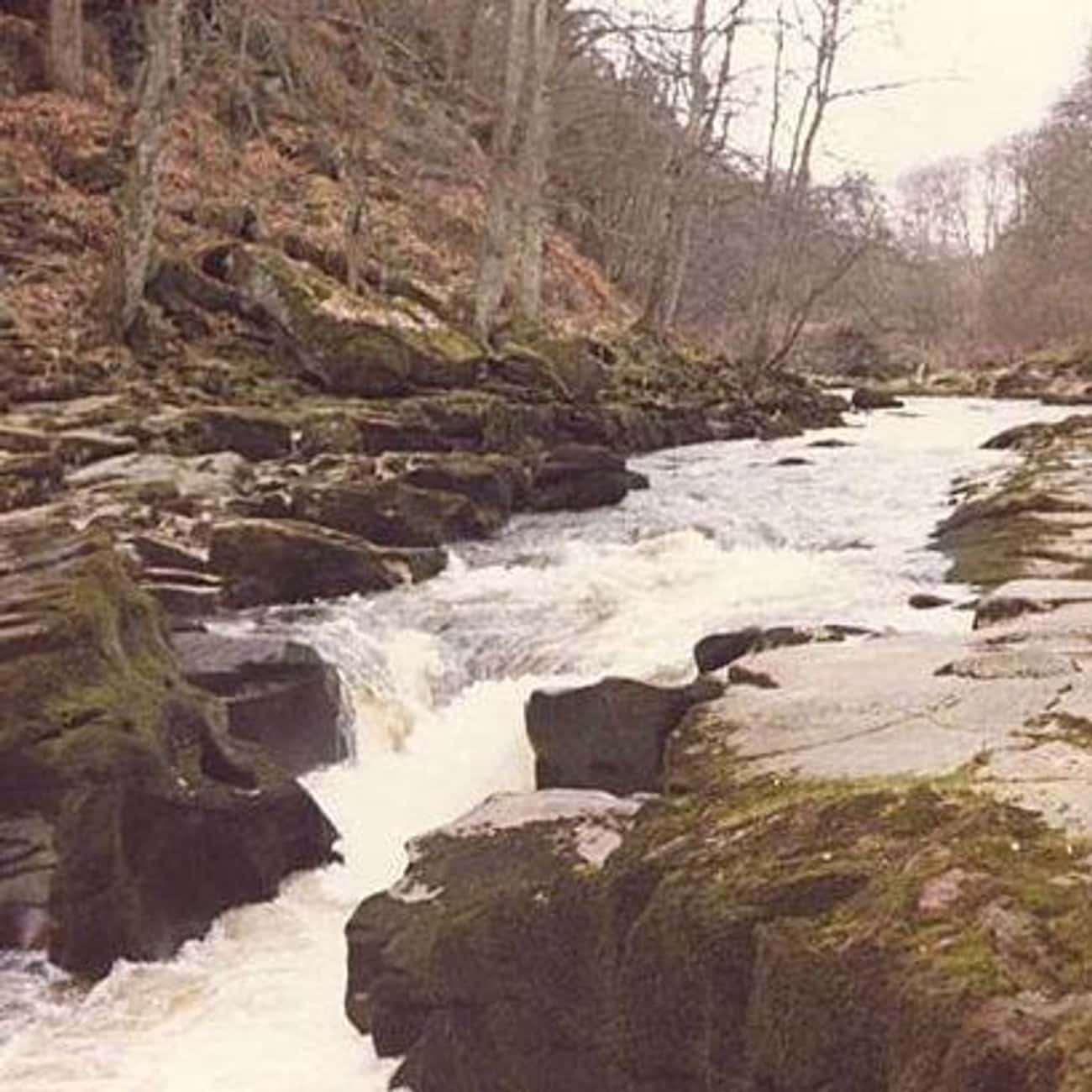 Beneath Bolton Strid Are Turbulent And Terrifying Rapids