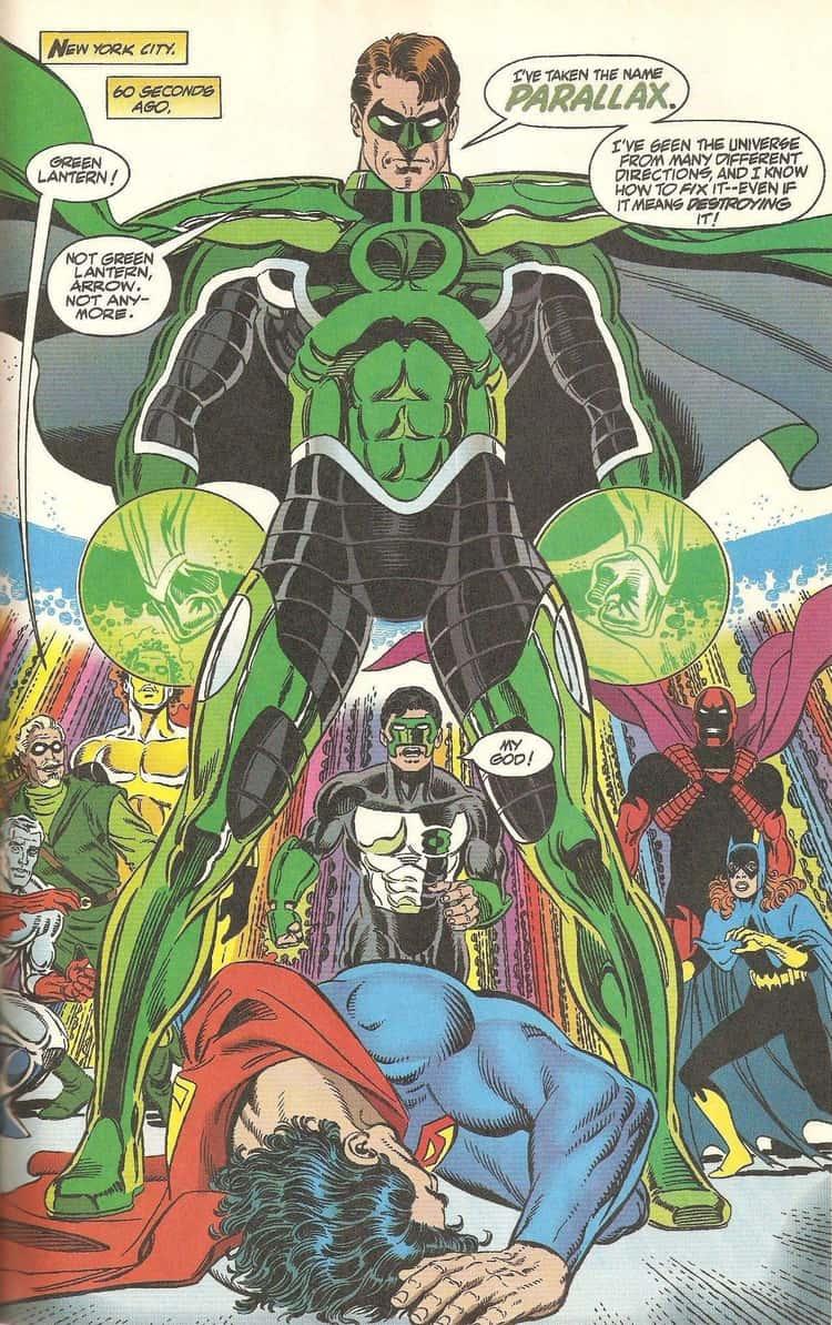Green Lantern Becomes A God