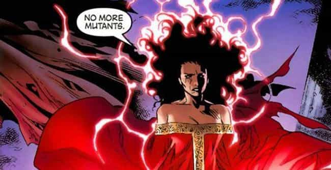 Scarlet Witch Alters Rea... is listed (or ranked) 3 on the list 14 Times Superheroes Were Way, Way Worse For Society Than Supervillains