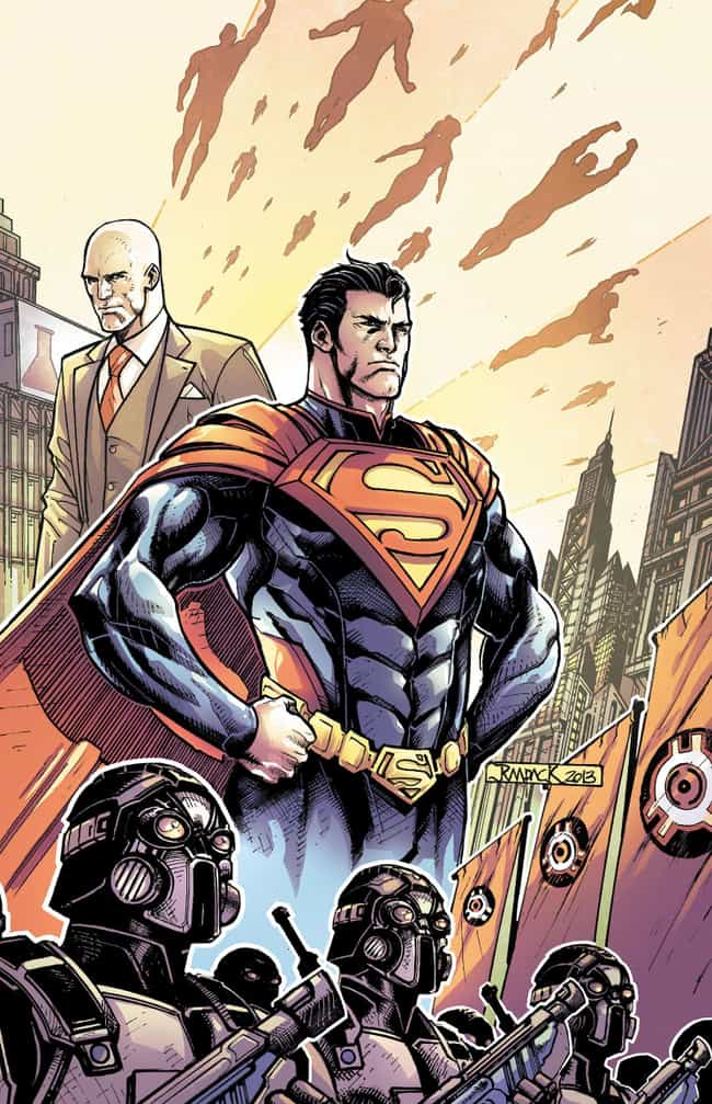 Superman Takes Over Eart... is listed (or ranked) 4 on the list 14 Times Superheroes Were Way, Way Worse For Society Than Supervillains