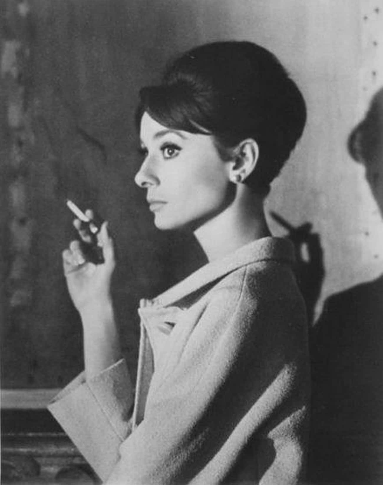 Hepburn Was A Heavy Smoker is listed (or ranked) 3 on the list Interesting Facts About Audrey Hepburn's Life You Probably Never Knew