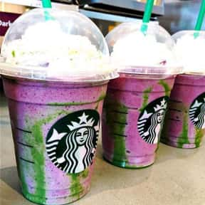 Mermaid Frappuccino is listed (or ranked) 14 on the list Starbucks Secret Menu Items
