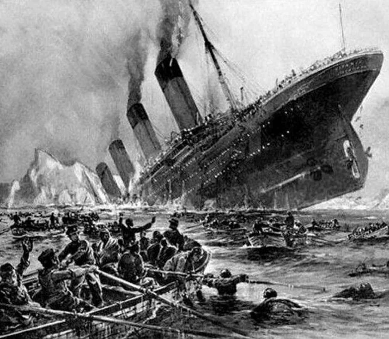 A Haunting Message From The Titanic