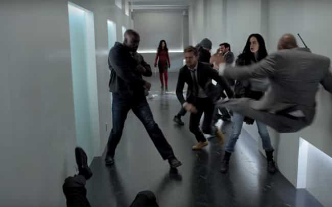 How Many Hallway Fights Do You... is listed (or ranked) 2 on the list The Defenders Looks Fun—But Can We Talk About How Bad Marvel's TV Trailers Are?